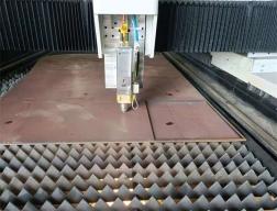 数控激光切割机数控系统切割操作展示
