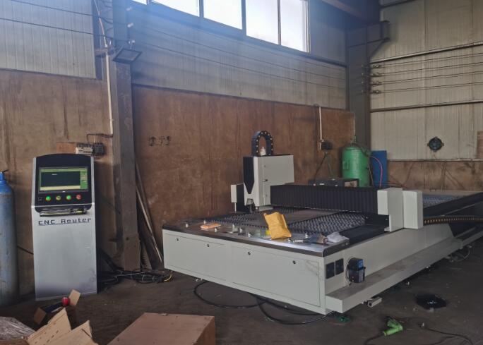信尔激光切割机设备厂房图片