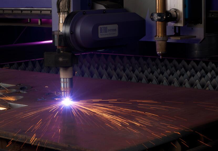 光纤激光切割机比起CO2的切割机的速度优势