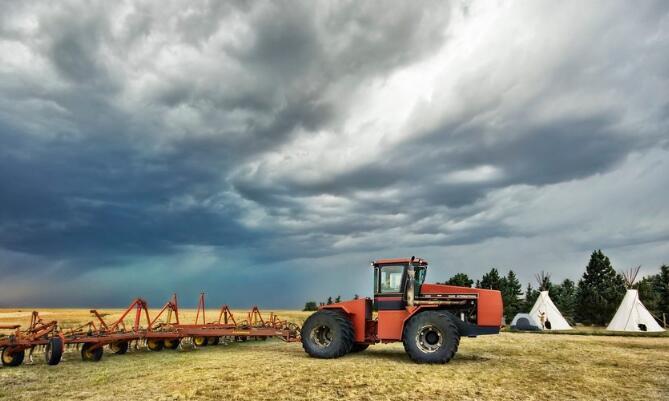 农用收割设备